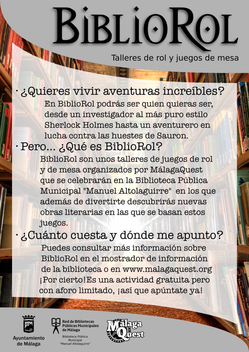Cartel BiblioRol Generico